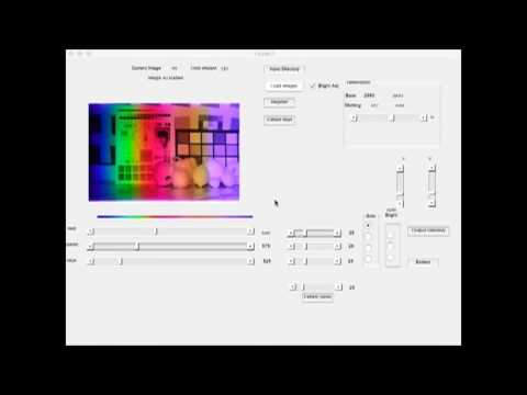 Demonstration of Hyperspectral Imaging camera with Linear Variable Bandpass filter