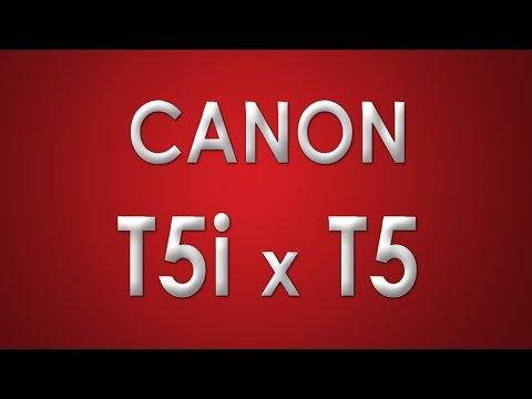 Review Canon T5i x T5 em Português (Dicas, caracteristicas, funções e principais diferenças)