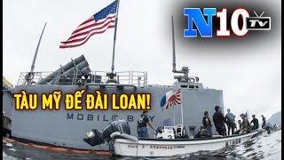 Tin Nóng :Tàu Chiến Mỹ Qua Đài Loan , Đài Loan Tiếp Tục Tập Trận Trên Biển Đối Phó TQ.
