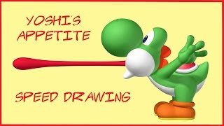 Yoshi's Appetite | Speed Drawing