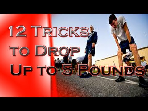 12 Tricks to Drop Up to 5 Pounds in a Week | Healthcare and Nutrition