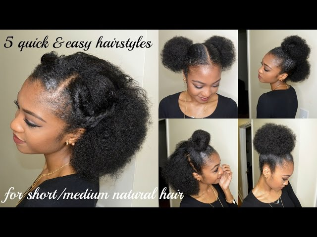 Easy Protective Styles | HerGivenHair