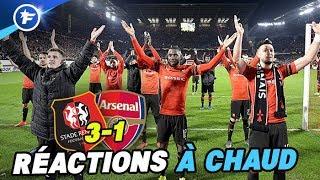La folle soirée du Stade Rennais face à Arsenal