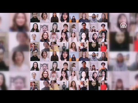Учащиеся вузов Китая подготовили видеоролик в поддержку Турции