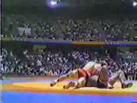 Mark Schultz v. Turkey 1984 Olympic Games