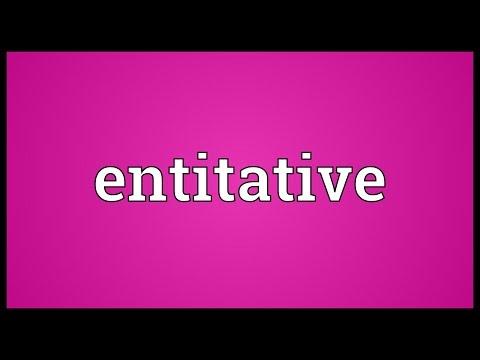 Header of entitative