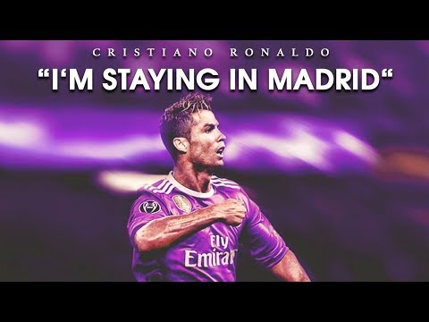 "Cristiano Ronaldo 2017 • ""I'm Staying in Real Madrid"" • Best Skills & Goals"
