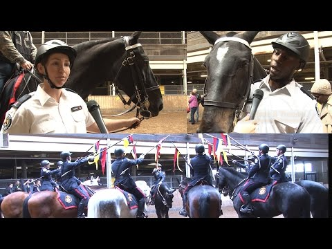 @TorontoPolice Mounted Unit Celebrates 130 Years at Grad Ceremony