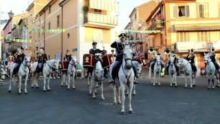 """La Fanfara a Cavallo della Polizia di Stato """"Fratelli d'Italia"""" 25.06.2017"""