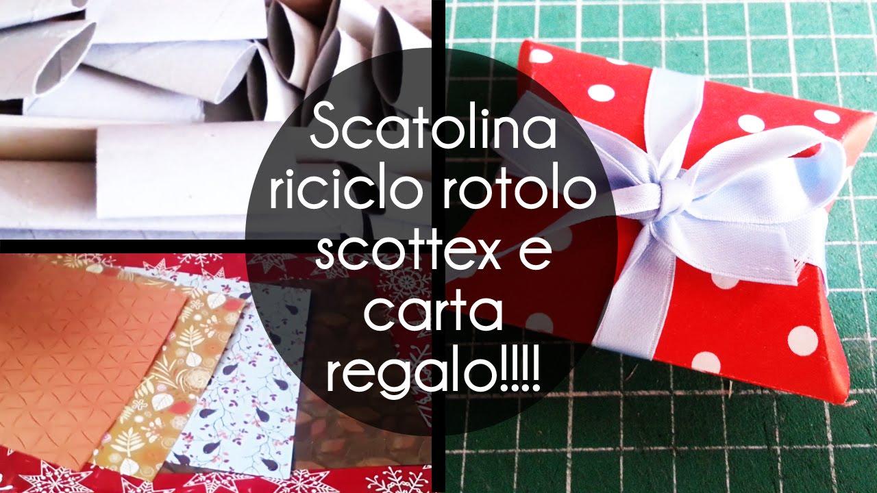 Bien connu Tutorial #03 | scatolina regalo | riciclo rotolo di carta igienica  UW85