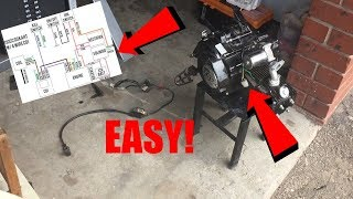 How To Wire a Pitbike (EASY)