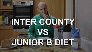 Inter County V's Junior B diet with Rory's Stories and GAAGO