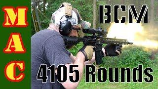 Part 3: BCM Endurance Test - 4105 rounds