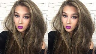 GRWM ПЫШНЫЕ волосы на второй день | БРОНЗОВЫЙ макияж | ЯРКИЕ губы(INSTAGRAM http://instagram.com/mrswikie5# Я в контакте http://m.vk.com/id16528538 Группа в контакте http://vk.com/mrswikie5 Follow me on twitter ..., 2015-08-10T21:32:49.000Z)