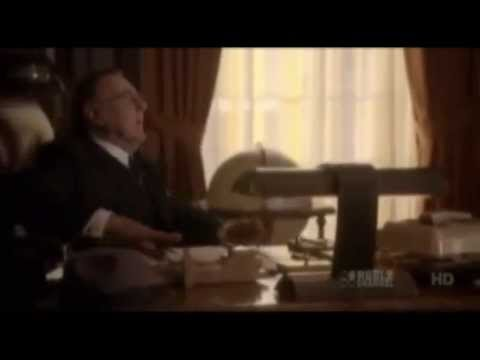 Tom Wilkinson, Gabriel Hogan and John White in The Kennedys - Part 1
