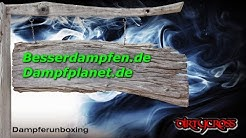 Dampferunboxing - Besserdampfen.de und Dampfplanet.de