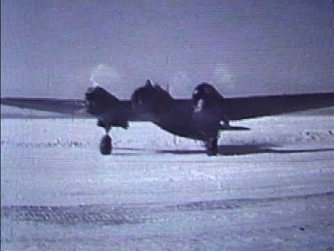 Tupolev SB2 bomber - WW2 Soviet Film