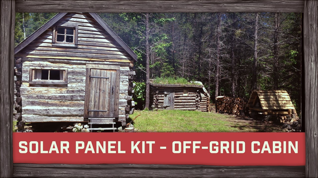 small resolution of cheapest solar panel kit ever for off grid cabin youtube fuse box for kit cabins