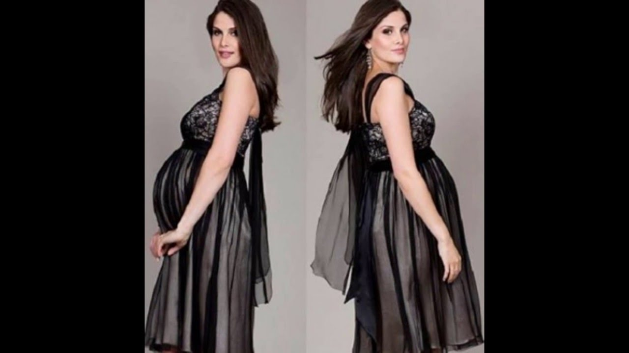 fb6c53a29c3 MODA: VESTIDOS PARA EMBARAZADAS. IDEAS - YouTube