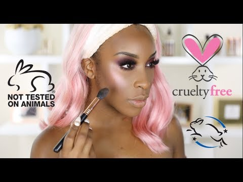 Cruelty Free Makeup Tutorial | Jackie Aina
