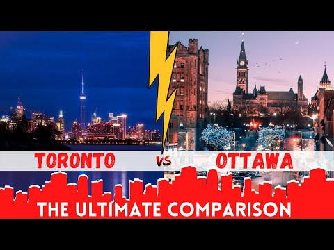 🔥 TORONTO v/s OTTAWA - which city is better to live?