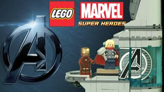 Lego Avengers Age Of Ultron Attack On Avengers Tower From Lego
