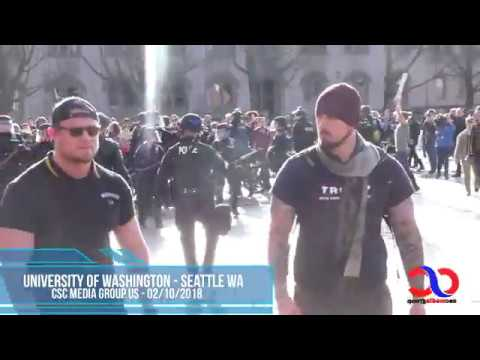 AntiFa Attack Proud Boys At University Of Washington Free Speech Rally And Lose Yet Again