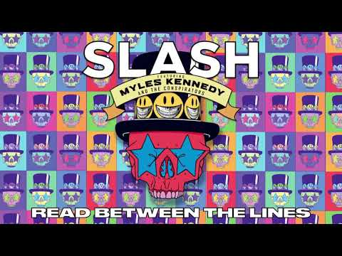 "SLASH FT. MYLES KENNEDY & THE CONSPIRATORS – ""Read Between The Lines"" Full Song Static Video"