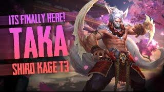 Vainglory News - SHIRO KAGE TAKA T3!! Reveal [Splash art + Gameplay]