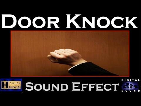 door knocking sound effect 3