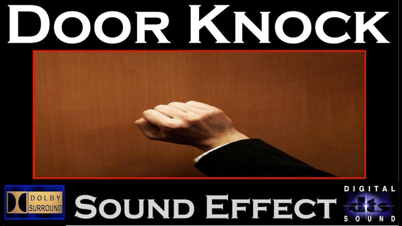 Door Knock Sound Effect Door Knock Sfx Hd Youtube