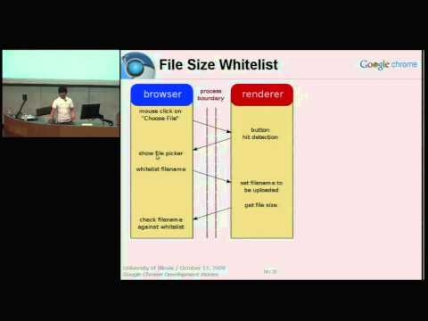 r   p 2009: Google Chrome development stories - Tony Chang