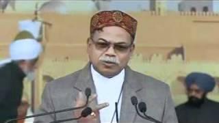 (Hindi) Christian Leader Father Sumanth Rai of Amritsar at Jalsa Salaana Qadian 2011