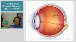 Improve Your Eyesight Naturally with the Bates Method - Live Q&A