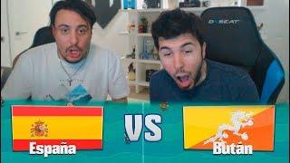 ESPAÑA VS BUTÁN! LIGA KOPANITOS #8