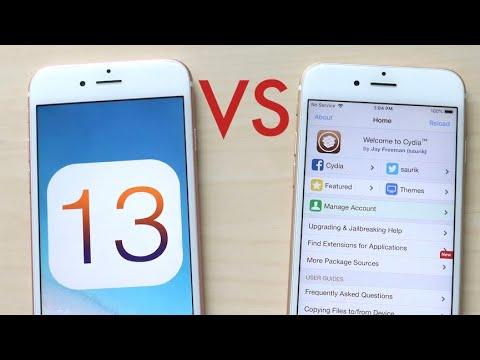 iOS 13 Vs Jailbroken iPhone