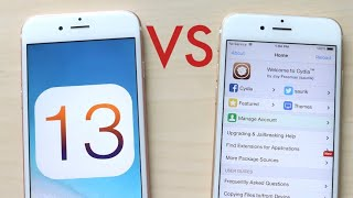 iOS 13 Vs Jailbroken iPhone!