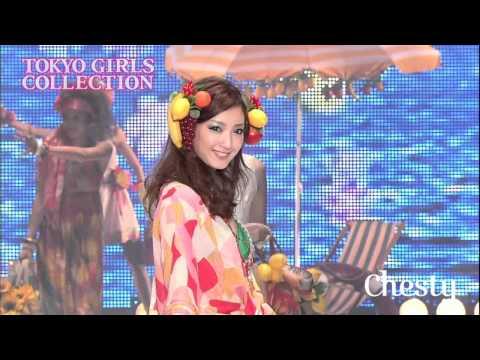 黒田エイミ TGC CM スチル画像。CM動画を再生できます。