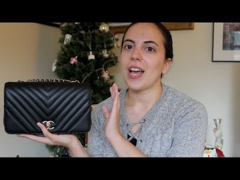 6cbcae7aa13a Review: Chanel Flap Bag (Part 1) - YouTube