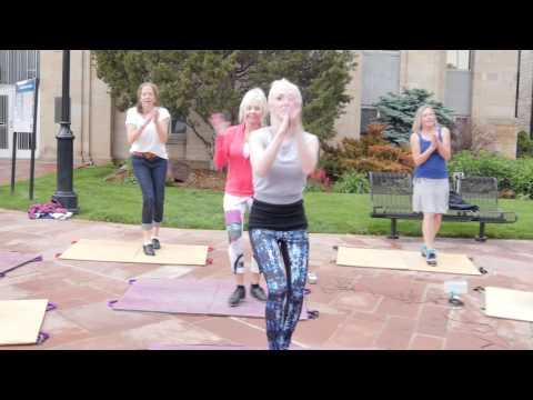 Tap-Dance Flash Mob Pearl Street Mall