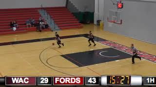 Haverford College Men's Basketball Highlights vs Washington College (November 30, 2017)