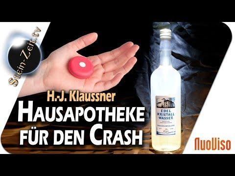 Optimale Hausapotheke für den Crash - H.-J. Klaussner bei SteinZeit