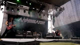"ANNIHILATOR   ""Alison Hell"" Live at Jalometalli 2015 4K 2160p"