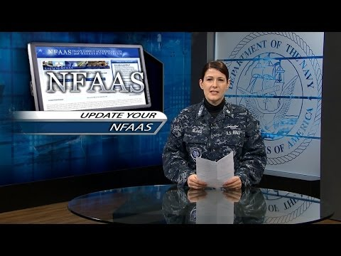 Verify and Update Your NFAAS Information; Navy Reserve Celebrated 99 Years