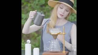 가정용 핸드 커피 메이커 양조 드립 그라인더 포트 세트…