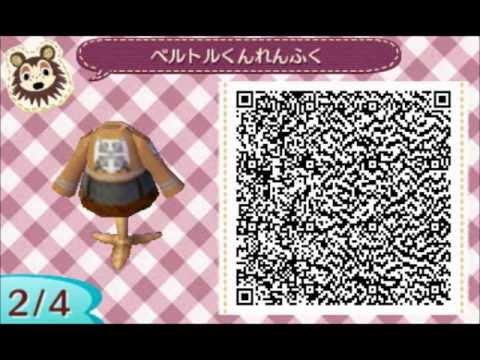 Animal Crossing:New Leaf QR codes