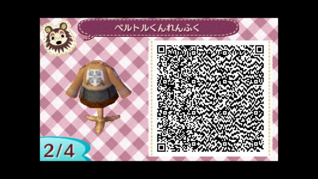 Animal Crossing:New Leaf QR codes - YouTube