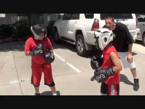 Kids Boxing Sparring