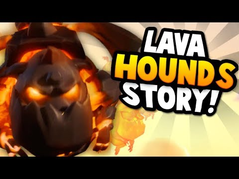 How was the Lava Hound Created? | The Lava Hound Origin Story - Clash of Clans & Clash Royale Story