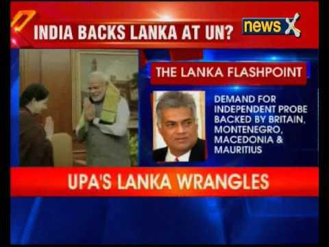 India backs Sri Lanka at UN?
